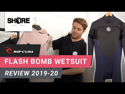 Rip Curl Flash Bomb 2019 2020 Winter Wetsuit Review Shore Co Uk Youtube