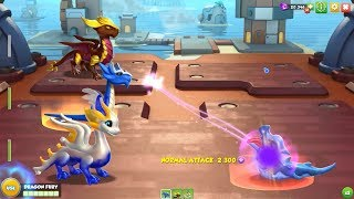 New Legendary Team: Aloe & Murano & Carmine Dragons - Dragon Mania Legends
