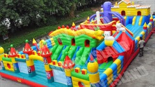 Los Juegos Inflables Más Divertidos Del Mundo | The Funniest Inflatable Bouncers In The World