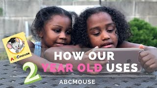 How Our Two Year Old Homeschooler Uses ABC Mouse