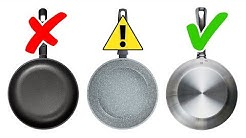 4 Types of Toxic Cookware to Avoid and 4 Safe Alternatives