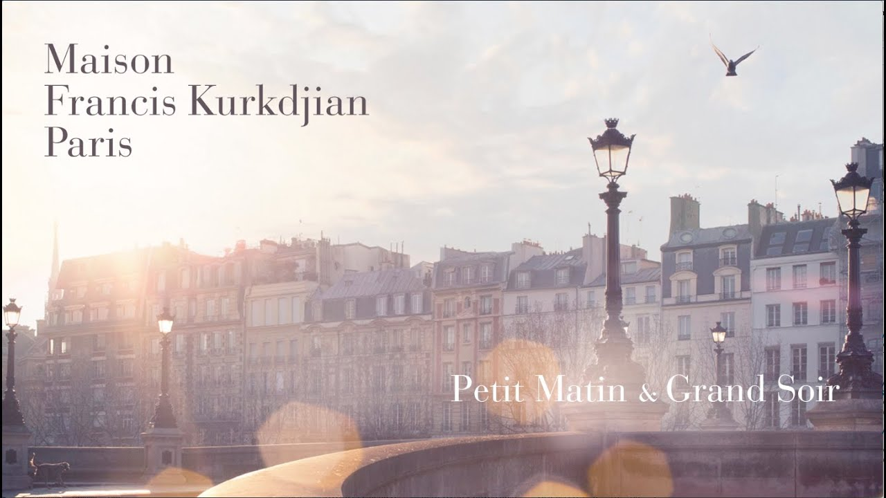 Maison francis kurkdjian petit matin grand soir youtube for Absolue pour le soir maison francis kurkdjian