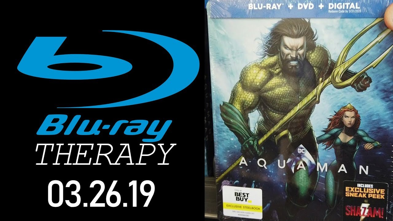 AQUAMAN has TWO collectors 4K Steelbooks! || Blu-Ray Therapy