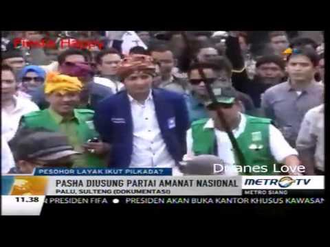 Pasha Ungu Daftar Calon Walikota Palu