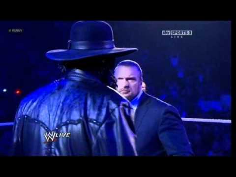 UNDERTAKER(DeadMan) Returns To RAW 01:02:2012