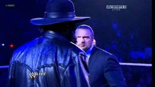 UNDERTAKER(DeadMan) Returns To RAW 01:02:2012