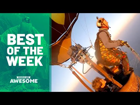 Parachuting, Gymnastics & More | Best of the Week