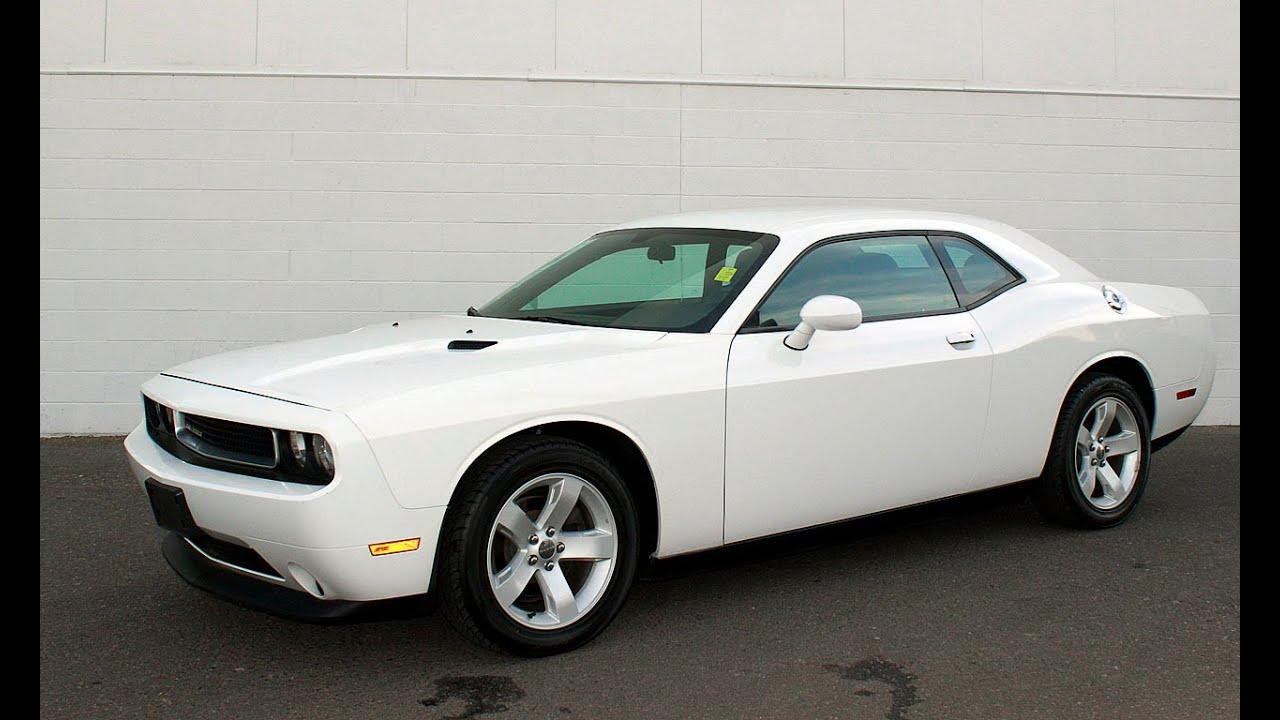 Dodge Challenger V6 0 60 >> Sonora Nissan, Yuma, Arizona, 85364, 2013 Dodge Challenger, Stock#5948, Bright White - YouTube