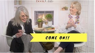 Diane Keaton and Candice Bergen candid interview