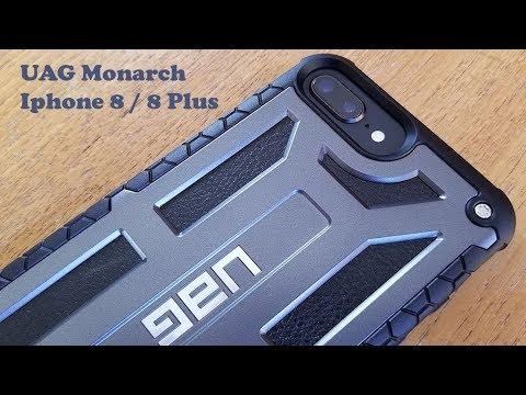 best loved 4d253 8a738 UAG Monarch Iphone 8 / 8 Plus Case Review - Fliptroniks.com