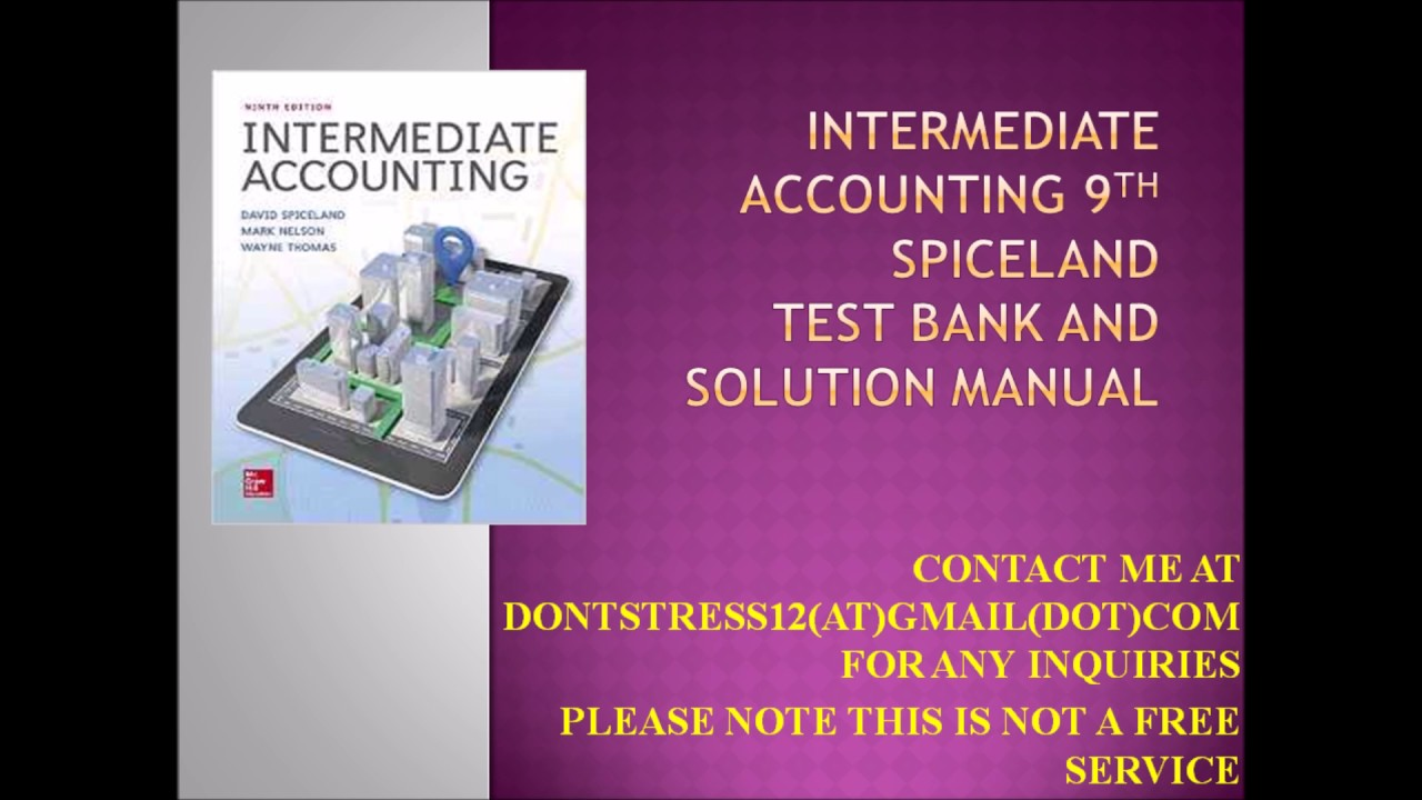accounting test solutions Accounting test banks and solution manuals: test bank for managerial accounting edition by find this pin and more on free accounting test banks and solution.