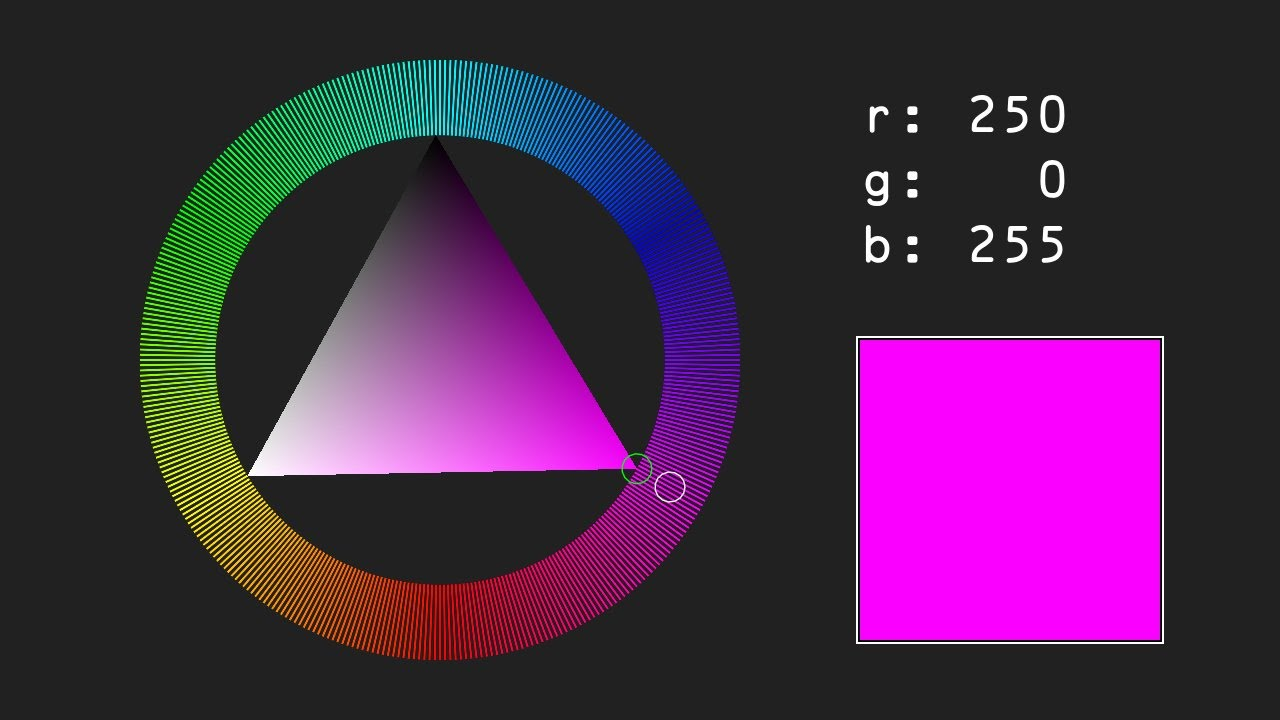 Game maker color picker - L Ve Color Picker Wheel Open Source Games
