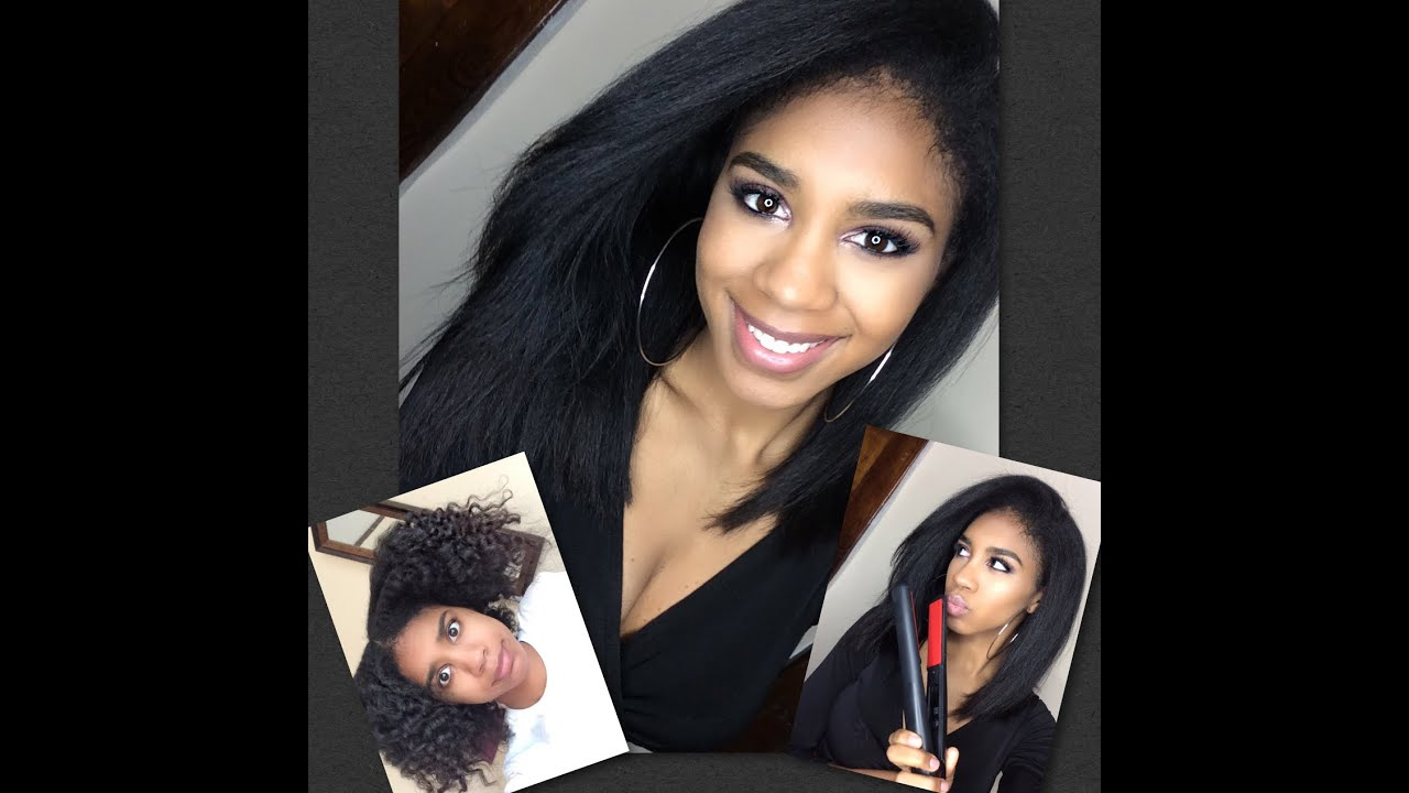 how to make natural hair stay straight longer