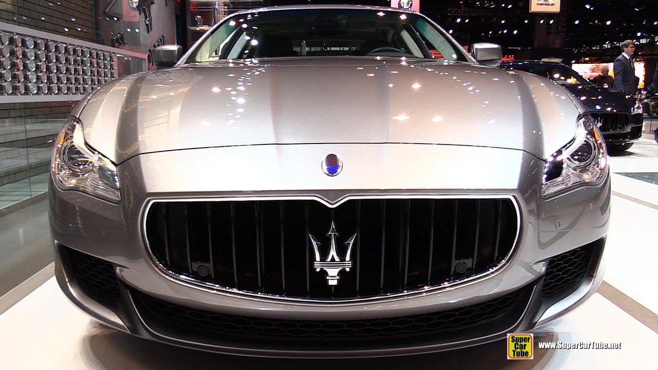 Maserati quattroporte 2015 interior