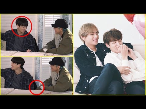 What happened under the table?   Taekook Analysis + Moments