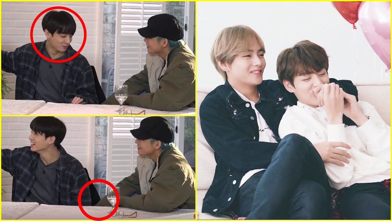 What happened under the table? | Taekook Analysis + Moments Update |
