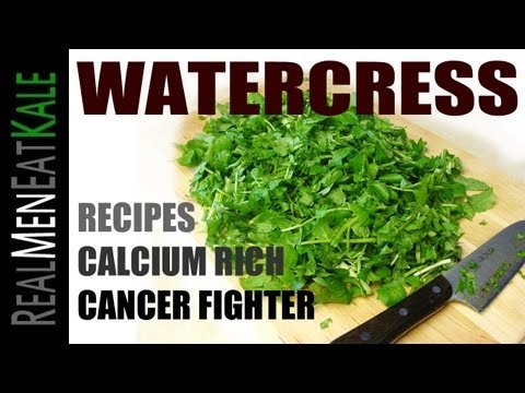 Watercress Recipes - Cancer Protector, Calcium Rich, & Harvesting!