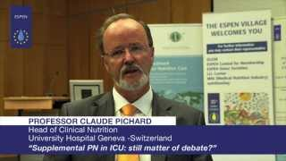 EVL - Professor Claude Pichard: Supplemental PN in ICU: still matter of debate