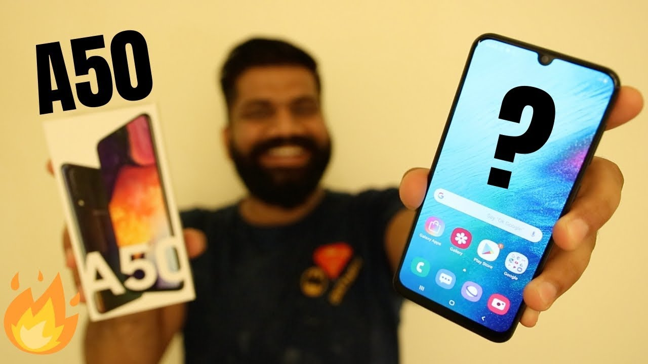 Samsung Galaxy A50 Unboxing & First Look - Great Features Killer Price????????????