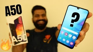 Samsung Galaxy A50 Unboxing & First Look - Great Features Killer Price🔥🔥🔥