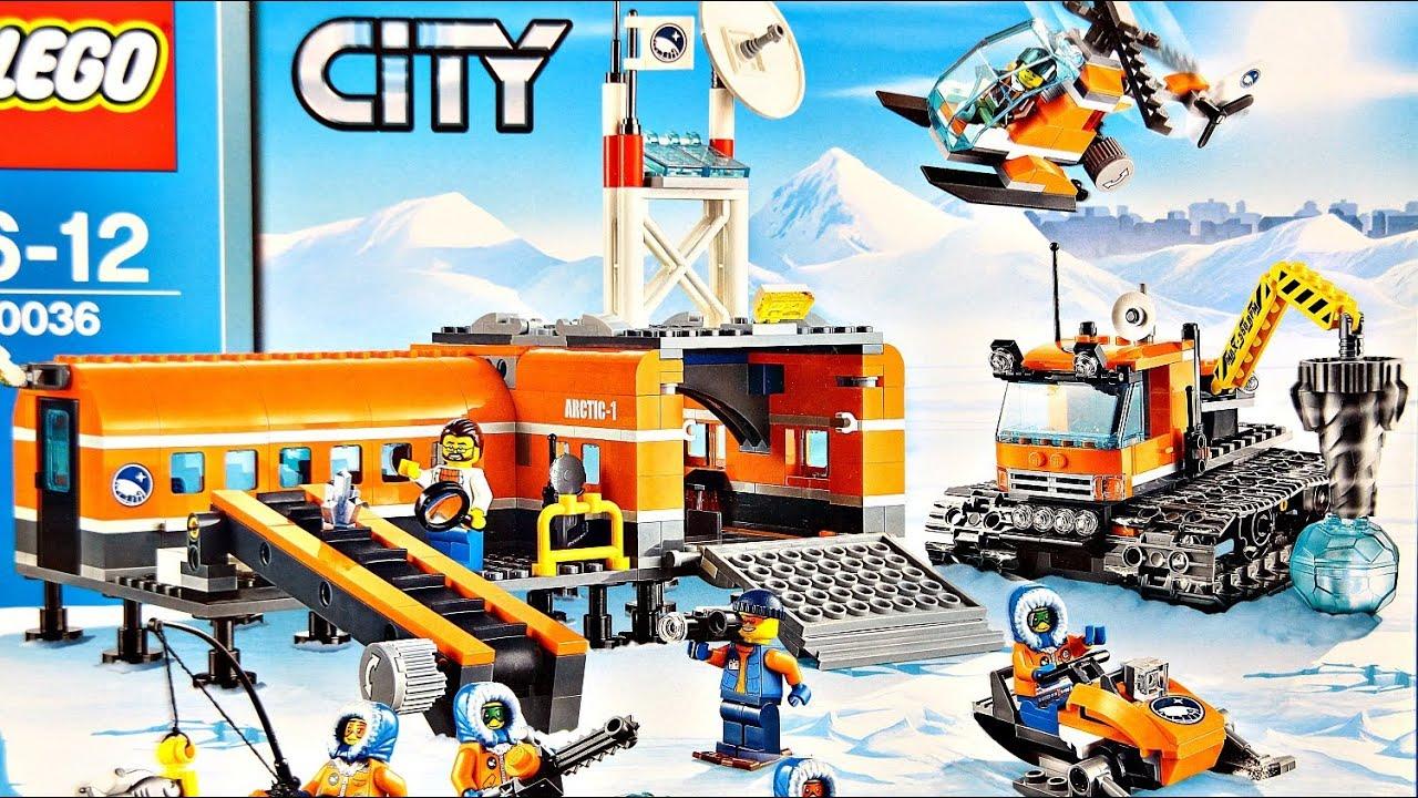 Arctic Base Camp Arktyczna Baza 60036 Lego City Recenzja Youtube