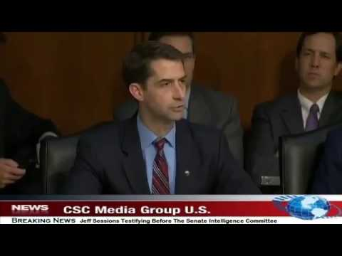 Tom Cotton slams probe into Sessions and Russia as 'spy fiction'