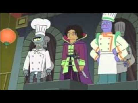 I read Futurama episode 30 percent Iron Chef part 2 of 2