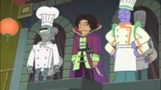 I read Futurama episode 30 percent Iron Chef part 2 of 2