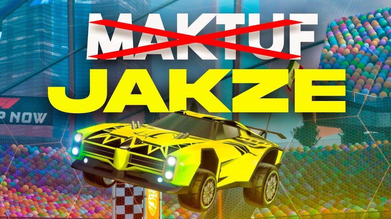 MAKTUF COPIA EL FREESTYLE DE JAKZE 🔥 MIMICKING FREESTYLERS #1 ROCKET LEAGUE
