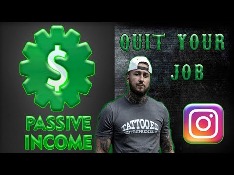 How To Quit Your Job, With Passive Income from Instagram - Part 1