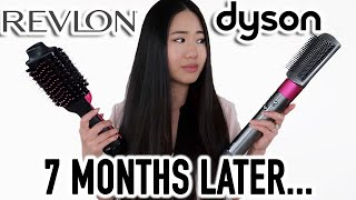 Dyson Airwrap VS Revlon One-Step Comparison - Which one I prefer after 7 months?
