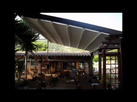 Pergola Roof | Pergola | Retractable Pergola - Pergola Roof Pergola Retractable Pergola - YouTube