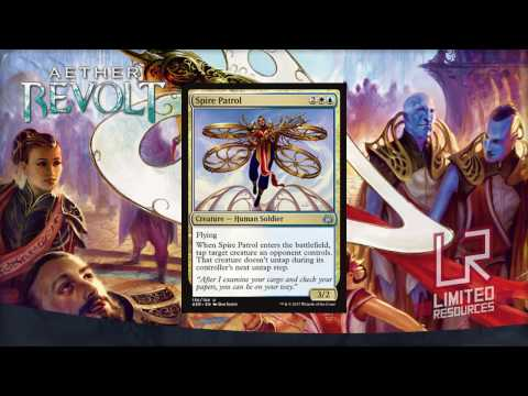 Limited Resources 371 – Aether Revolt Set Review: Commons and Uncommons
