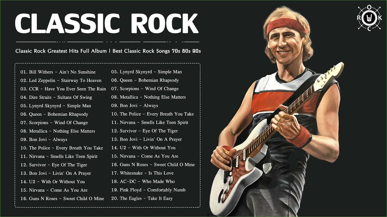 Classic Rock Greatest Hits Full Album | Best Classic Rock Songs Of 70s 80s 90s