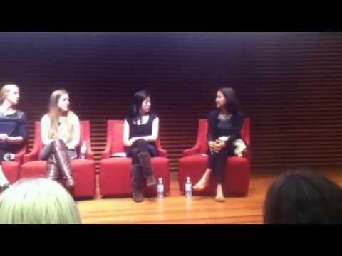 Lisa Falzone and Yunha Kim give pertinent advice to 15/16 year old girls on Entrepreneurship...