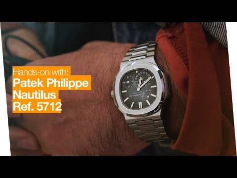 Hands-on: Patek Philippe Nautilus 5712 - Unsporty Sports Watch