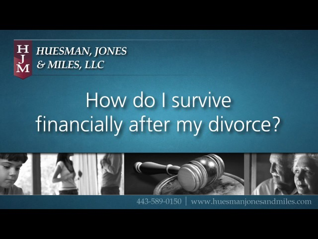 Surviving Financially After a Divorce