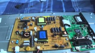 led tv sound no picutre repair