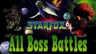 Star Fox 64: All Bosses