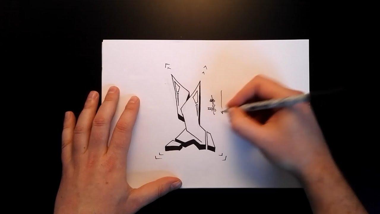 Graffiti I Zeichnen How To Draw Graffiti Buchstaben Youtube