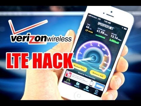 How To Boost Verizon LTE Data Speeds & Remove Data Throttling On iPhone 5 & iPad 4/3/Mini