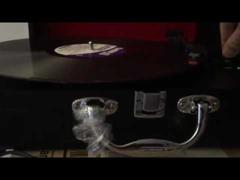 ION Audio Vinyl Motion Portable Briefcase Style Turntable ...