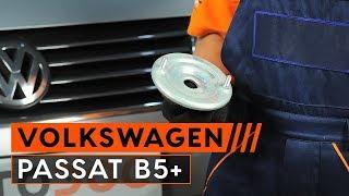 Kaip pakeisti Remonto komplektas, atrama / vairo trauklė VW PASSAT Variant (3B5) - internetinis nemokamas vaizdo