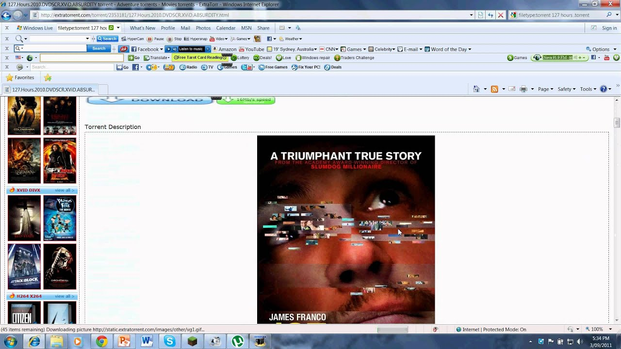 127 hours movie download in hindi
