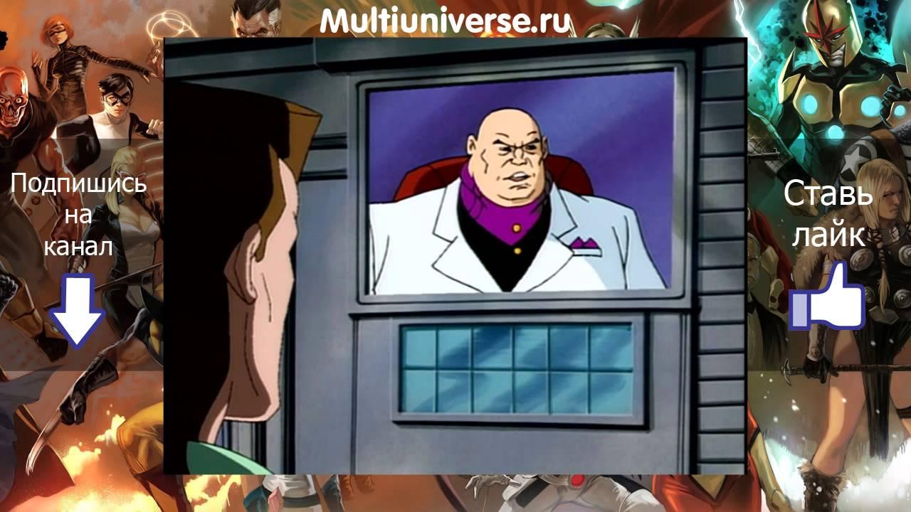Человек паук, Spiderman сезон 2 серия 12 - Неумолимое время (Ravages of Time)