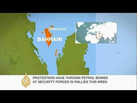 Tension in Bahrain as Formula One takes place