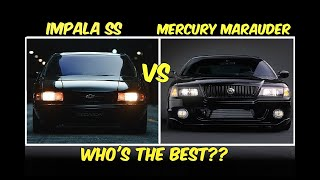 Time to answer one of the most asked questions all time! which these lumbering 4 door muscle sedans is king road? it mercury mara...
