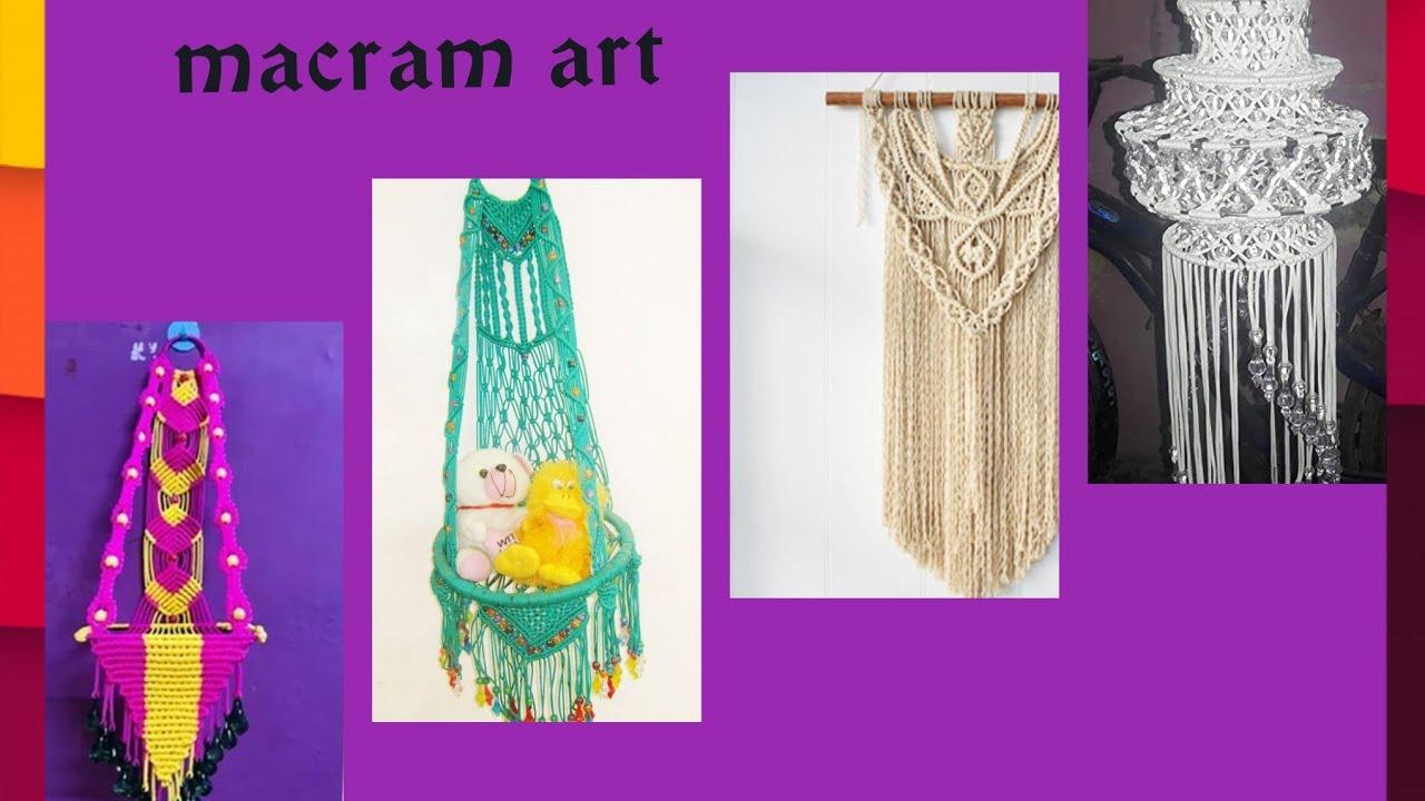 Macram art design