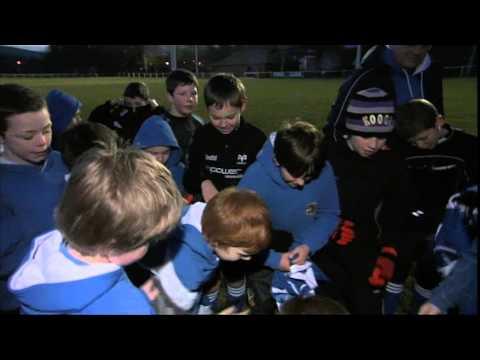 Ystradgynlais Under 10s World First Digital Rugby Jersey