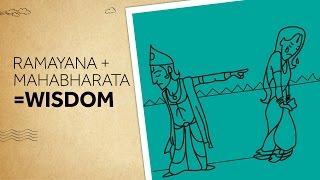Ramayana + Mahabharata = Wisdom | Epified